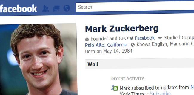 Mark Zuckerberg Facebook Profile - mark-zuckerberg-facebook-profile